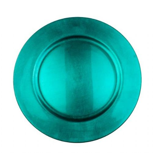 Beautiful Charger Plate / Underplates 33cm - TURQUOISE